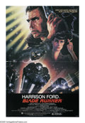 """Movie Posters:Science Fiction, Blade Runner (Warner Brothers, 1982). One Sheet (27"""" X 41""""). RidleyScott's adaptation of Philip K. Dick's """"Do Androids Drea..."""