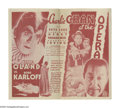 """Movie Posters:Mystery, Charlie Chan at the Opera (20th Century Fox, 1936). Herald (4.5"""" X 8""""). Considered by many to be the best of the """"Charlie Ch..."""