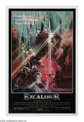 """Movie Posters:Fantasy, Excalibur (Warner Brothers, 1981). One Sheet (27"""" X 41""""). A violentupdating of the King Arthur legend from director John Bo..."""