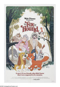 "Movie Posters:Animated, The Fox and the Hound (Buena Vista, 1981). One Sheet (27"" X 41"").""We're still friends, right? -- Tod, those days are over. ..."