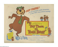 "Hey There, It's Yogi Bear (Hanna-Barbera Productions, 1964). Lobby Card Set of 8 (11"" X 14""). After saving his..."