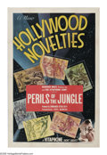 """Movie Posters:Adventure, Hollywood Novelties Stock Poster (Warner Brothers, 1940s). OneSheet (27"""" X 41""""). This stock poster was used to promote vari..."""