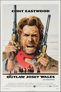 "The Outlaw Josey Wales (Warner Brothers, 1976). One Sheet (27"" X 41""). Western"