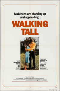 """Walking Tall & Others Lot (Cinerama Releasing, 1973). One Sheets (4) (27"""" X 41"""") Style C. Crime. ... (Tota..."""