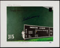"Autographs:Others, Ted Williams Signed ""Teddy Ballgame"" Limited Edition Lithograph...."