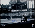 Autographs:Photos, Don Larsen and Yogi Berra Signed Oversized Photograph. ...