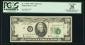 Error Notes:Shifted Third Printing, Shifted Third Printing Error Fr. 2070-B $20 1969C Federal Reserve Note. PCGS Apparent Very Fine 30.. ...