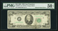 Error Notes:Ink Smears, Solvent Smear on Face Error Fr. 2075-L $20 1985 Federal ReserveNote. PMG About Uncirculated 50 EPQ.. ...