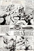 Original Comic Art:Panel Pages, John Calnan and Bob McLeod The Brave & the Bold # 137Partial Story Original Art Group of 10 (DC Comics, 1977)....(Total: 10 Original Art)