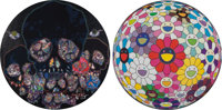 Takashi Murakami (b. 1962) The Moon Over The Ruined Castle and Flower Ball Open your Hands Wide<