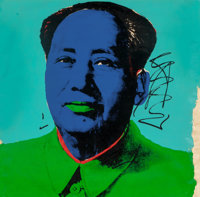 Andy Warhol (1928-1987) Mao, 1972 Screenprint in colors on Beckett High white paper 35-1/4 x 35-1