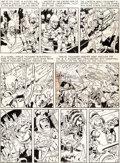 Original Comic Art:Panel Pages, Wally Wood and Harvey Kurtzman Two-Fisted Tales #22 StoryPage 4 Original Art (EC Comics, 1951)....