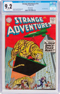 Silver Age (1956-1969):Science Fiction, Strange Adventures #115 White Mountain Pedigree (DC, 1960) CGC NM-9.2 White pages....