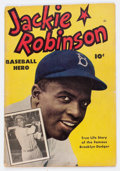 Golden Age (1938-1955):Non-Fiction, Jackie Robinson #nn (Fawcett Publications, 1950) Condition:GD/VG....