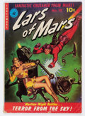 Golden Age (1938-1955):Science Fiction, Lars of Mars #10 (Ziff-Davis, 1951) Condition: GD/VG....