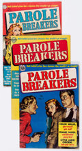 Golden Age (1938-1955):Crime, Parole Breakers #1-3 Group (Avon, 1951-52) Condition: Average VG-.... (Total: 3 Comic Books)