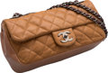 "Luxury Accessories:Bags, Chanel Brown Quilted Suede Flap Bag. Very Good to Excellent Condition. 10"" Width x 5.5"" Height x 3"" Depth. ..."