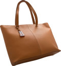 "Luxury Accessories:Bags, Chanel Brown Leather Tote Bag. Excellent Condition. 14"" Width x 12.5"" Height x 4.5"" Depth. ..."