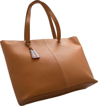 """Chanel Brown Leather Tote Bag Excellent Condition 14"""" Width x 12.5"""" Height x 4.5"""" Depth"""