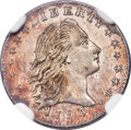 Early Half Dimes, 1795 H10C V-4, LM-10, R.3, MS61 NGC....