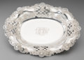 Silver Holloware, American:Bowls, A Tiffany & Co. Silver Reticulated Bread Bowl, New York, circa1892-1902. Marks: TIFFANY & CO., 11283 MAKERS 5269,STERLIN...