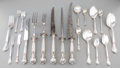Silver Flatware, American:Gorham, A One Hundred and Forty-Three Piece Gorham Chantilly PatternSilver Flatware Service, Providence, Rhode Island, ... (Total: 143Items)