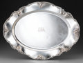 Silver Holloware, American:Trays, A Gorham Chantilly Pattern Silver Meat Tray, Providence,Rhode Island, designed 1895. Marks: (lion-anchor-G), ...