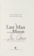 Autographs:Celebrities, Gene Cernan Signed Book: The Last Man on the Moon. ...
