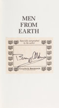 Autographs:Celebrities, Buzz Aldrin Signed Book: Men From Earth. ...