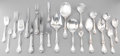 Silver Flatware, American:Reed & Barton, A One Hundred and Twenty-One Piece Reed & BartonBurgundy Pattern Silver Flatware Service, Taunton,Massachusett... (Total: 121 Items)