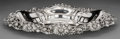 Silver & Vertu:Hollowware, An American Silver Dish with Daisy Motif, early 20th century . Marks: STERLING. 2-1/2 h x 16-1/4 w x 11-3/8 d inches (6....