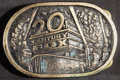 """Movie Posters:Miscellaneous, 20th Century Fox Brass Belt Buckle (20th Century Fox, 1976). Belt Buckle (3.45"""" X 2.30"""" X 1.75""""). Miscellaneous.. ..."""