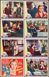 """The Passionate Friends (Universal International, 1949). Lobby Card Set of 8 (11"""" X 14""""). Drama. Released in th..."""