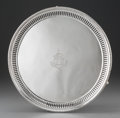 Silver Holloware, British:Holloware, A Martin, Hall & Co. Victorian Silver Footed Salver, Sheffield, 1860. Marks: (lion passant), (crown), (duty mark), S, MH&C...