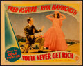 """Movie Posters:Musical, You'll Never Get Rich (Columbia, 1941). Lobby Card (11"""" X 14""""). Musical.. ..."""