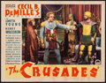 "Movie Posters:Adventure, The Crusades (Paramount, 1935). Lobby Card (11"" X 14""). Adventure....."