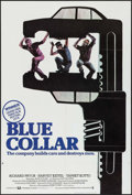 "Movie Posters:Crime, Blue Collar (Universal, 1978). British One Sheet (27"" X 40""). Crime.. ..."