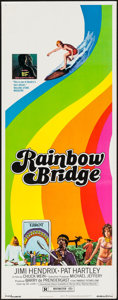 "Movie Posters:Rock and Roll, Rainbow Bridge (Transvue, 1972). Insert (14"" X 36""). Rock andRoll.. ..."