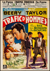 """Stand Up and Fight (MGM, 1939). Pre-War Belgian (23.75"""" X 33.25""""). Western"""