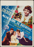 """Movie Posters:Comedy, She Married Her Boss (Columbia, 1935). Pre-War Belgian (24.25"""" X 33.5""""). Comedy.. ..."""