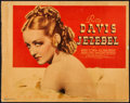 "Movie Posters:Drama, Jezebel (Warner Brothers, 1938). Linen Finish Title Lobby Card (11""X 14""). Drama.. ..."