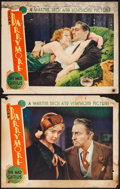 "Movie Posters:Drama, The Mad Genius (Warner Brothers, 1931). Lobby Cards (2) (11"" X14""). Drama.. ... (Total: 2 Items)"