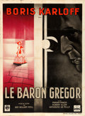 "Movie Posters:Horror, The Black Room (Columbia, 1935). French Grande (46"" X 63"") RogerVacher Artwork.. ..."