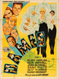 "Movie Posters:Musical, Dames (Warner Brothers, 1934). French Grande (46.5"" X 63""). JacquesBonneau Artwork.. ..."