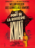 "Movie Posters:War, The Bridge on the River Kwai (Columbia, 1958). Full-Bleed FrenchGrande (45.5"" X 62.75"") Style B, Georges Kerfyser Artwork...."