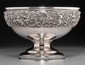 Silver Holloware, American:Bowls, A Large Tiffany & Co. Silver Olympian Pattern CenterBowl, New York, designed 1878, manufactured circa 1878-1891...