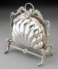 Silver & Vertu:Hollowware, A Sanborns Mexican Silver Biscuit Warmer, Mexico City, second half 20th century. Marks: Sanborns, MEXICO, STERLING, (thr...