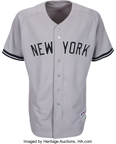 free shipping 99506 acb20 2011 Derek Jeter Game Worn New York Yankees Jersey Signed by ...