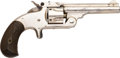 Handguns:Single Action Revolver, Smith & Wesson No. 1 1/2 Second Issue Double ActionRevolver....