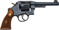 Handguns:Double Action Revolver, Boxed Smith & Wesson 1950 Military Model 22 Double Action Revolver....